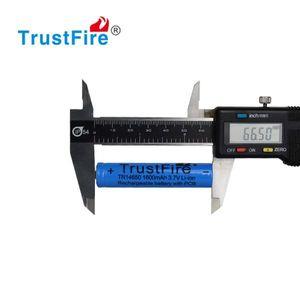 Trustfire 14650 1600 mAh Li-ion akku suojapiirillä