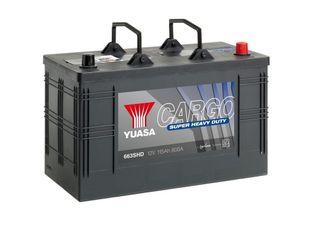 Yuasa 663SHD 12V 115Ah 800CCA Super Heavy Duty Käynnistusakku