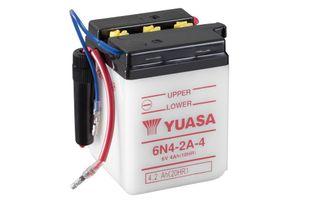 Yuasa 6N4-2A-4 4Ah Conventional 6V Käynnistusakku