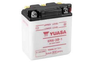 Yuasa 6N6-3B-1 6Ah Conventional 6V Käynnistusakku