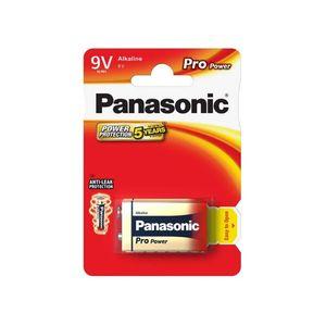 Panasonic Alkaline Paristo 6LR61/9V Pro Power, 1kpl