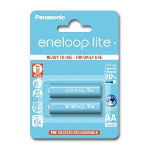 Panasonic Eneloop Lite R6 / AA Akkuparisto 950mAh - 2 kpl
