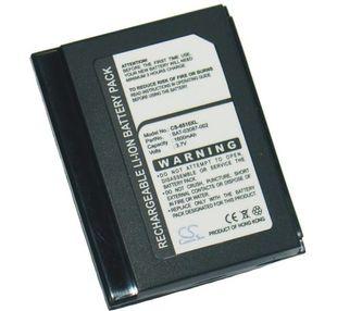 Blackberry 7520, 6510, 7510 tehoakku erillisellä takakannella 1600 mAh
