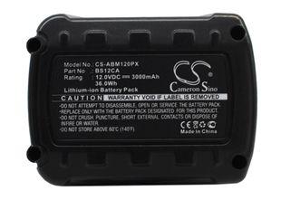 AEG MC-BS12CA Työkalun Akku