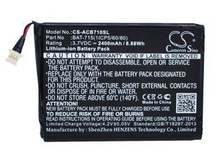 Acer Iconia B1-A71, Iconia B1-A71-83174G00nk, Iconia Tab B1 Tabletin Akku