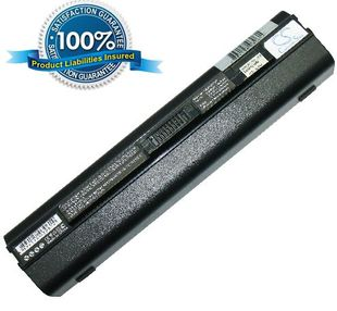 Acer Aspire One 531, Aspire One 751 akku 6600 mAh - Musta