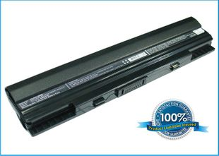 Asus Eee PC 1201 ja UL20 akku 4400 mAh musta