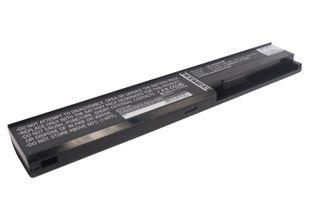 Asus F401, X401 akku 4400mAh / 47.52Wh mAh - Musta