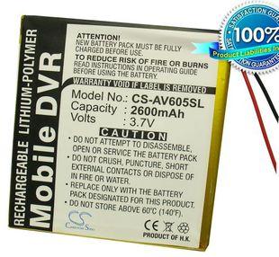 Archos AV605 20GB, AV605 40GB, AV605 60GB, AV605 160GB, AV605 Wifi 20GB, AV605 Wifi 40GB, AV605 Wifi 60GB, AV605 Wifi 160GB akku 2600 mAh
