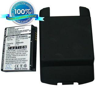 Blackberry 8900, Curve 8900 tehoakku erillisellä takakannella 2000 mAh