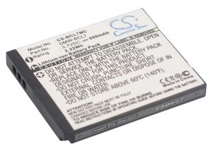 Panasonic DMW-BCL7 akku - 600 mAh