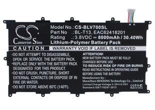 """LG G Pad 10.1"""", G Pad Tablet 10.1"""", V700 Tabletin Akku"""