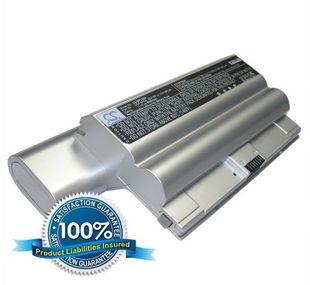 Sony VAIO VGP-BPS8 ja VGP-BPL8 akku 8800 mAh - Hopea