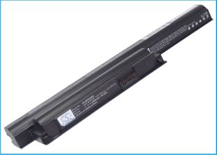 Sony VAIO VGP-BPS26 ja VGP-BPL26 akku 4400 mAh - Musta
