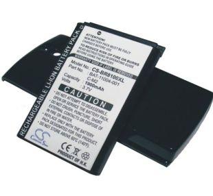 Blackberry 8100, 8100c, 8100r, BlackBerry Pearl tehoakku erillisellä takakannella 1900 mAh