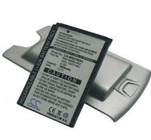 Blackberry 8707V tehoakku erillisellä takakannella 1900 mAh