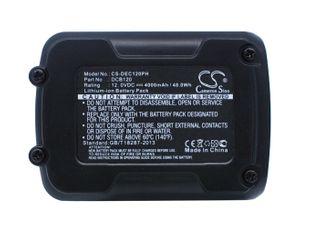DeWalt 12V MAX Li-ion, DCD700, DCD710 Työkalun Akku