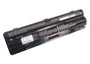 Dell XPS 14, XPS 15, XPS 17 akku 6600 mAh - Musta