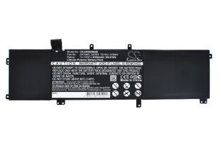 DELL Precision M2800, Precision M3800, XPS 15 9530 akku 8100 mAh