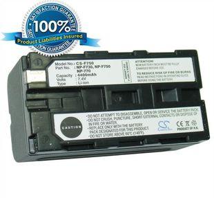 Sony NP-F750, NP-F730, NP-F770 yhteensopiva akku 4400 mAh