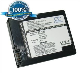 Sony NP-FF50, NP-FF51, NP-FF51S yhteensopiva akku 750 mAh