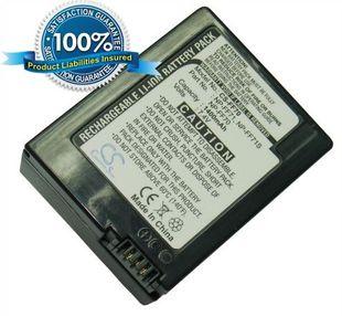 Sony NP-FF70, NP-FF71, NP-FF71S yhteensopiva akku 1400 mAh