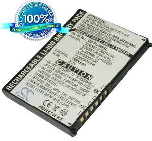 Fujitsu Loox 400, Loox 410, Loox 420, Loox N500, Loox N520, Loox N520c, Loox N520p, Loox N560, Loox N560c, Loox N560e, Loox N560p, Loox C500, Loox C550, Loox N520c, Loox N560p, Loox N520p, Loox N560e akku 1250 mAh