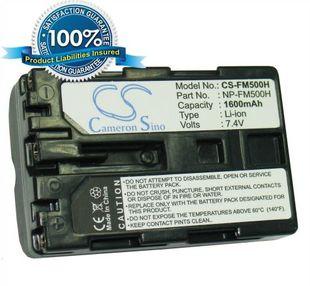 Sony NP-FM500H yhteensopiva akku 1600 mAh