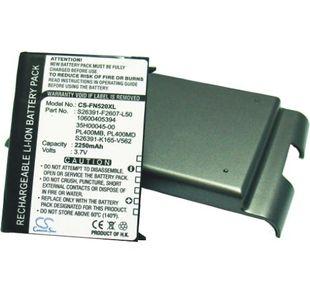 Fujitsu Loox N560, Loox N560c, Loox N560e, Loox N560p tehoakku erillisellä takakannella 2250 mAh