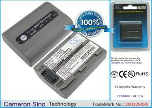 Sony NP-FP51D yhteensopiva akku 680 mAh
