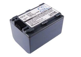 Sony NP-FP70, NP-FP60, NP-FP71 yhteensopiva akku 1360 mAh
