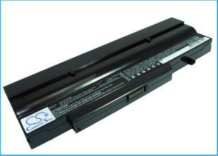 Medion E5211 akku 6600 mAh - Musta