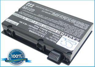Fujitsu Amilo Pi3450 akku 4400 mAh - Musta