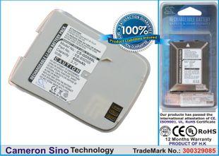 Panasonic GD55, EB-BSD55 / valkoinen / hopea akku 850 mAh