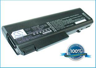 HP Compaq 6530 akku 6600 mAh - Musta