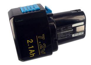 Hitachi EB712S Ni-MH 7,2 V akku 2100 mAh