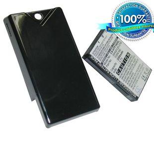 HTC Touch Diamond 2, Topaz 100, T5353 tehoakku erillisellä takakannella 2200 mAh