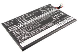 HTC EVO View 4G, Flyer, P510E Tabletin Akku