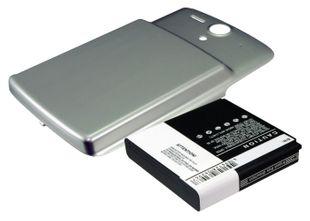 Huawei U8815, Ascend U8815 Tehoakku laajennetulla hopeisella takakannella Akku 3600 mAh