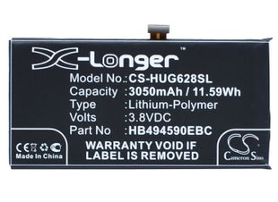 Huawei Honor 7, Ascend G628 akku 3050 mAh