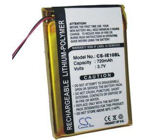 iRiver E10, E10CT, HDD Jukebox, IRI-E10 akku 720 mAh