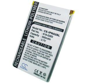 iPOD Nano G2 6G, iPOD Nano G2 8G akku 550 mAh