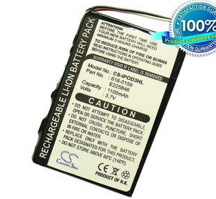 iPOD 3. Sukupolvi, iPod 20GB, iPod 15GB, iPod 30GB, iPod 10GB, iPod 40GB akku 1100 mAh