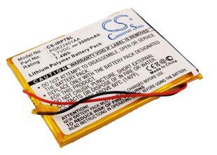 iRiver P7, 1P0716SIL 16GB, 1P0708SIL 8GB, REI-P7(B) akku 2000 mAh