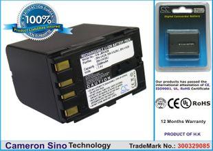 JVC BN-V428, BN-V428U, BN-V438, BN-V438U  yhteensopiva akku 3300 mAh