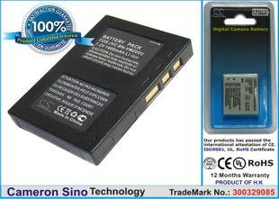 JVC BN-VM200, BN-VM200UE, LY34416-001B, BN-VM200U, BN-VM200US  yhteensopiva akku 750 mAh