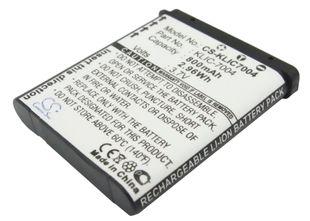 Kodak KLIC-7004 yhteensopiva akku 800 mAh