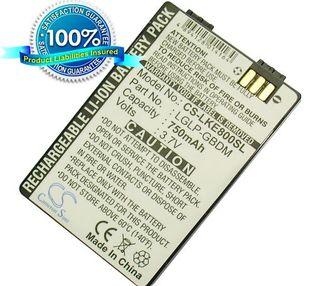 LG KE800, KG90n akku 750 mAh