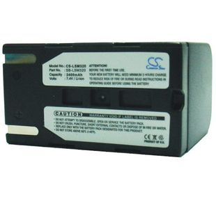 Samsung SB-LSM320 yhteensopiva akku 2400 mAh