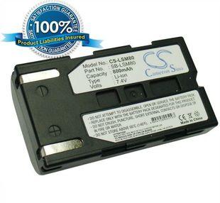 Samsung SB-LSM80 yhteensopiva akku 800 mAh
